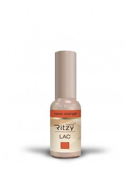Ritzy Lac UV/LED gel polish Neon Orange 115