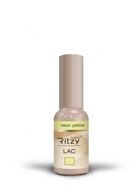 Ritzy Lac UV/LED gel polish Neon Yellow 119