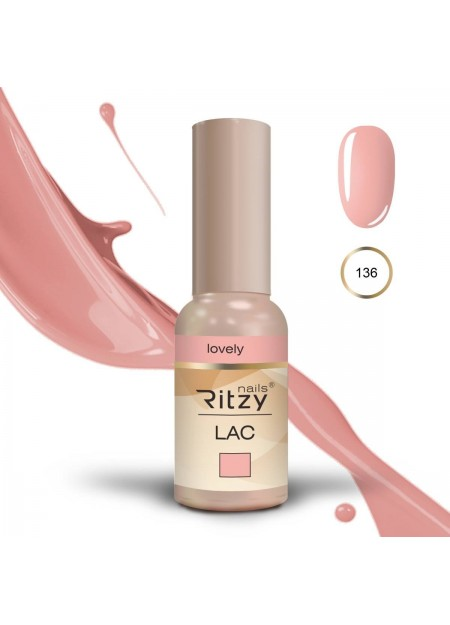 Ritzy Lac UV/LED gel polish Lovely