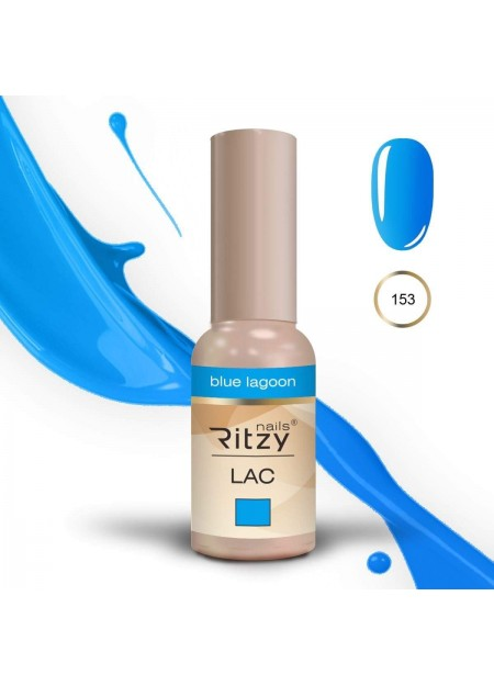Ritzy Lac UV/LED gel polish Blue Lagoon 153 9ml