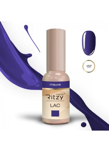 Ritzy Lac UV/Led gel polish Mauve 157 9ml