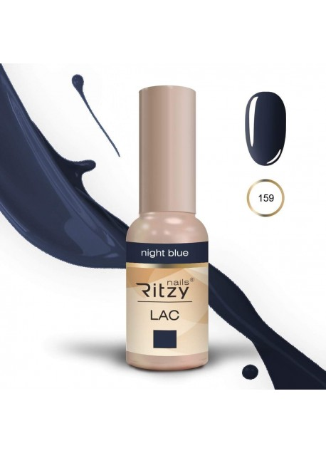 Ritzy Lac UV/Les gel polish Night Blue 159 9ml