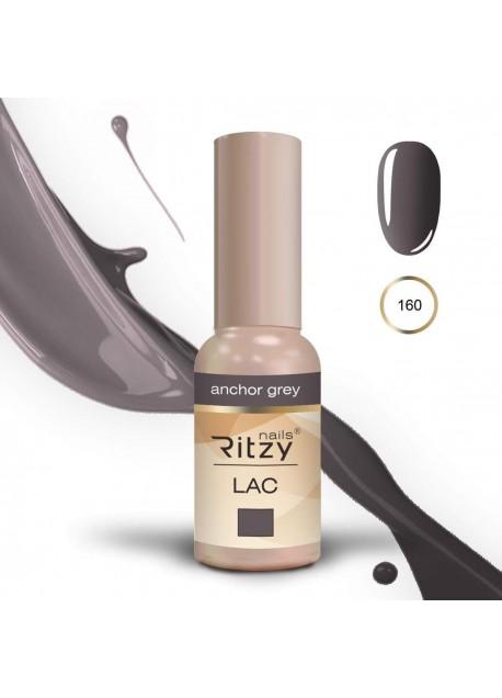 Ritzy Lac UV/Led gel polish Anchor Grey 160 9ml