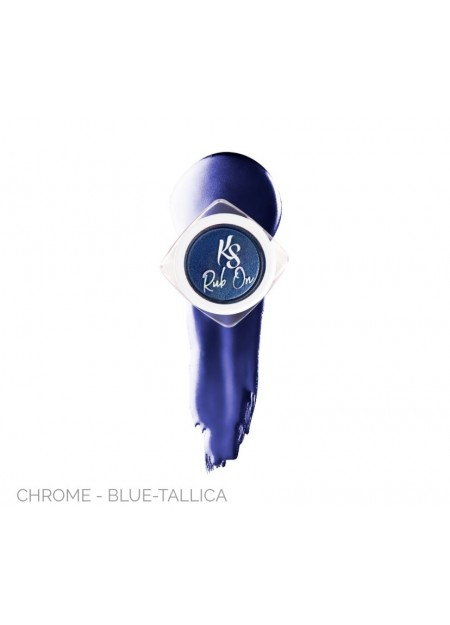 Chrome - Blue Tallica