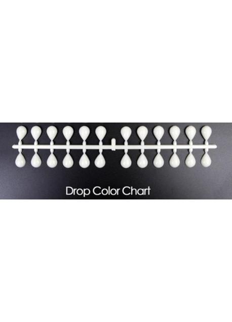 Display tips Drops Natural