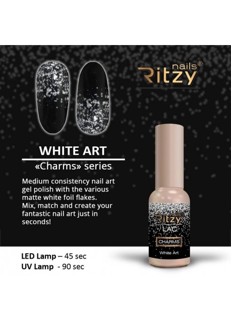 White Art Charms