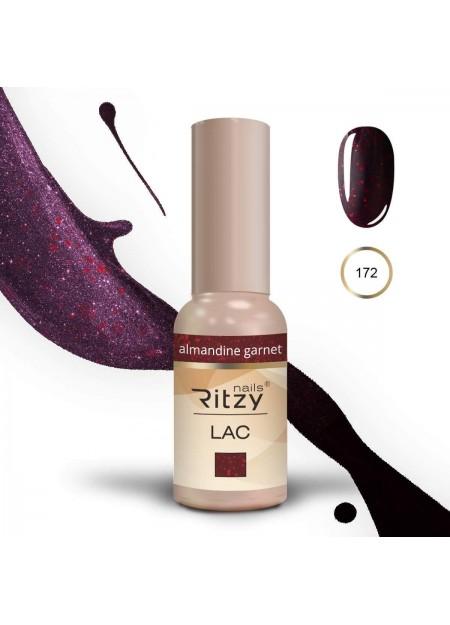 Ritzy Lac gel polishUv/Led Almandine Garnet 172 9ml