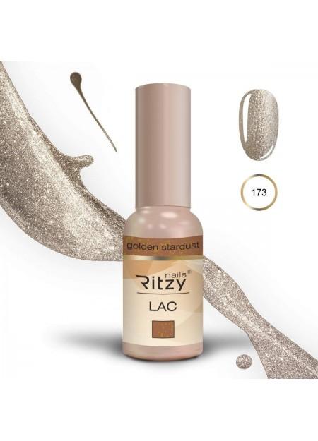 Ritzy Lac gel polish Uv/Led Golden Stardust 173 9ml