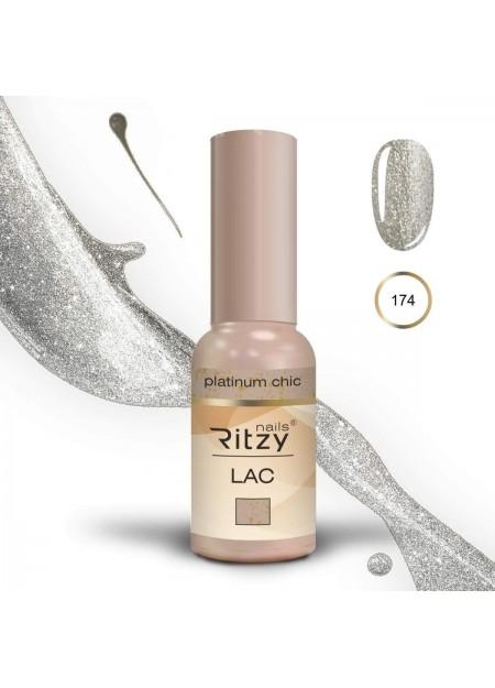 Ritzy Lac gel polish Uv/Led Platinum Chic 174 9ml