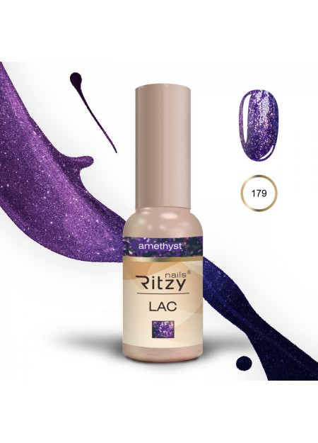 Ritzy Lac gel polish Uv/Led Amtrhyst 179 9ml