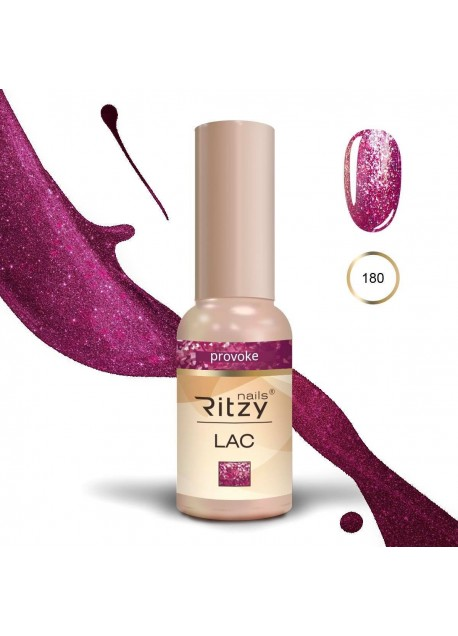 Ritzy Lac gel polish Uv/Led Provoke 180 9ml