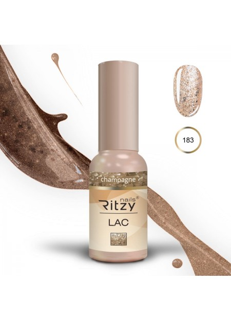 Ritzy Lac gel polish UV/Led Champagne 183 9ml