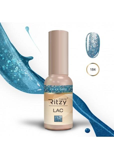 Ritzy Lac gel polish UV/Led Ice Ice Baby 184 9ml