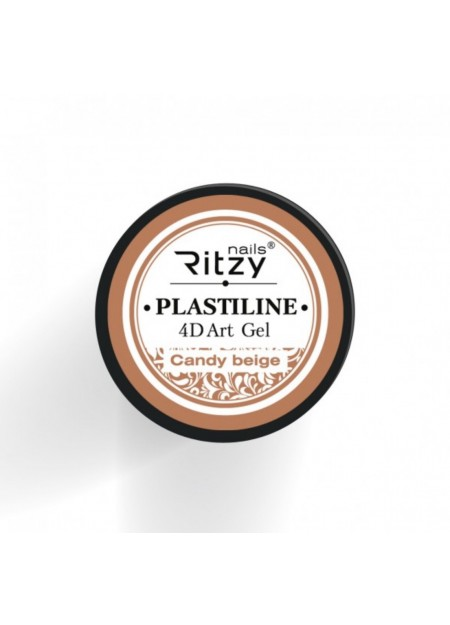 Plasteline 4d Art Gel Candy Beige