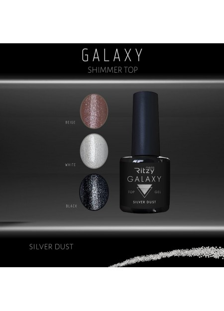 Galaxy Top Siver Dust