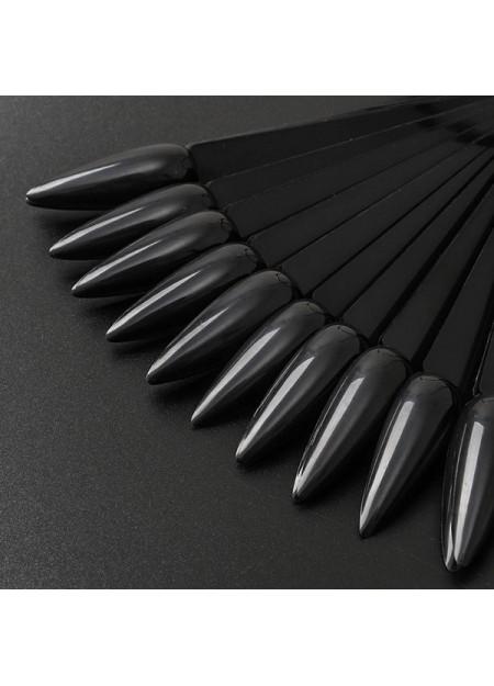 Stiletto tips Black