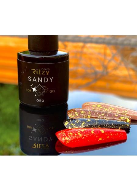 SANDY Oro Top gold foil