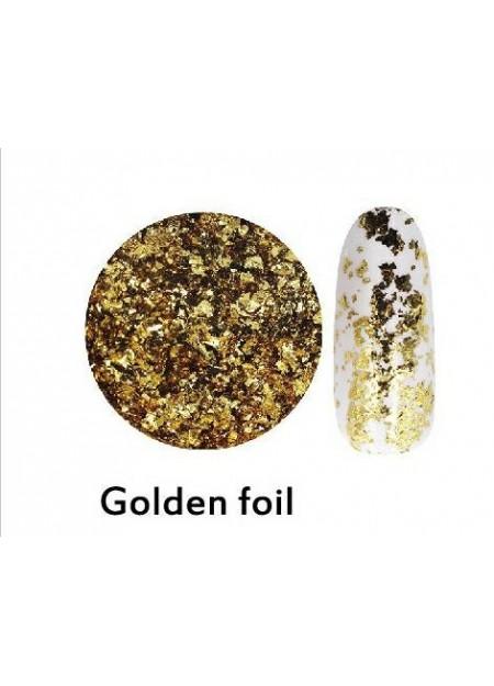 Sky Powder Golden Foil