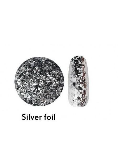 Sky Powder Silver Foil
